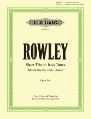 Kleines Trio op. 46c - Alec Rowley - Partition - laflutedepan.com