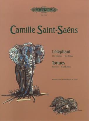 L'éléphant / Tortues SAINT-SAËNS Partition Violoncelle - laflutedepan