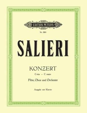 Antonio Salieri - Konzert C-Dur –Flöte Oboe Klavier - Partition - di-arezzo.fr