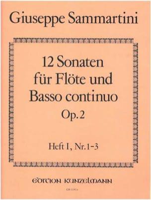 Giuseppe Sammartini - 12 Sonaten op. 2 – Heft 1 – Flöte u. Bc - Partition - di-arezzo.fr