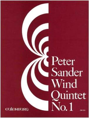 Wind quintet N° 1 -Score + parts - Peter Sander - laflutedepan.com