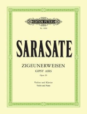 Pablo de Sarasate - Zigeunerweisen op. 20 - Partition - di-arezzo.fr