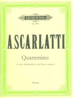 Quartettino - 3 Flûtes A Bec Alto et Basse Continue Cello Ad Libitum laflutedepan