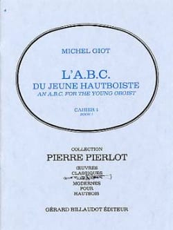 Michel Giot - The ABC of the young oboist - Volume 1 - Sheet Music - di-arezzo.com