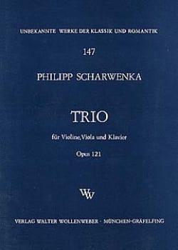 Philipp Scharwenka - Trio op. 121 –Violine Viola Klavier - Partition - di-arezzo.fr
