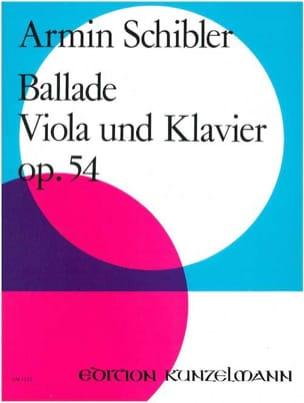 Armin Schibler - Ballade op. 54 - Partition - di-arezzo.fr