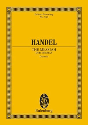 Der Messias - Georg Friedrich Haendel - Partition - laflutedepan.com