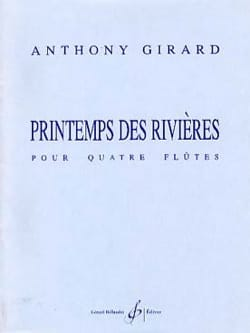 Anthony Girard - Printemps des rivières - Partition - di-arezzo.fr