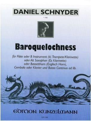 Daniel Schnyder - Baroquelochness - Partition - di-arezzo.fr