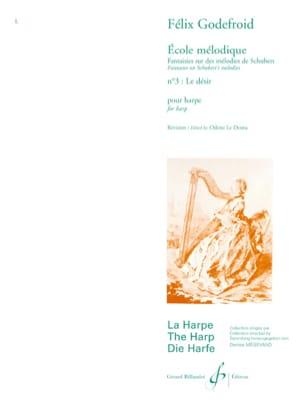 Le Désir N°3 Felix Godefroid Partition Harpe - laflutedepan
