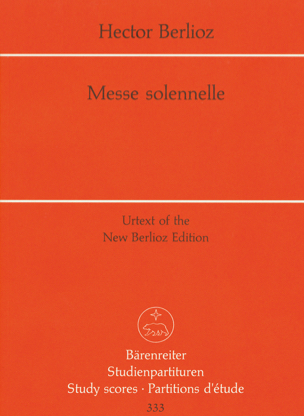 BERLIOZ - Solemn Mass - Sheet Music - di-arezzo.co.uk