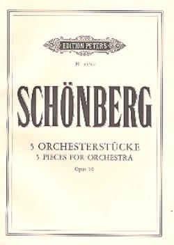 5 Orchesterstücke op. 16 - Conducteur Arnold Schoenberg laflutedepan