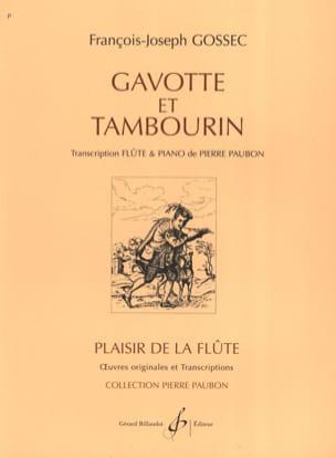 François-Joseph Gossec - Gavotte and Tambourine - Sheet Music - di-arezzo.co.uk