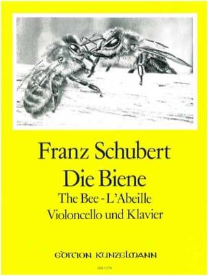 Franz (de Dresde) Schubert - L'abeille op. 13 n° 9 – Violoncelle - Partition - di-arezzo.fr