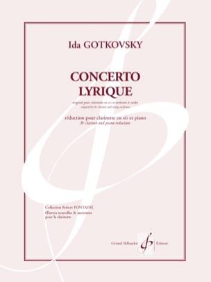 Ida Gotkovsky - Lyrical Concerto - Sheet Music - di-arezzo.co.uk
