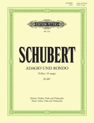 SCHUBERT - Adagio und Rondo - Klavierquartett - Parties - Partition - di-arezzo.fr