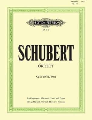 Octuor, Op.166 D.803 - Clar.-Cor-Basson-Quatuor A Cordes-Contrebasse laflutedepan