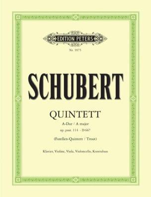 Quintett Forellen A-Dur op. post. 114 DV 667 –Stimmen - laflutedepan.com
