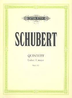 Quintett in C-Dur op. 163 -Stimmen SCHUBERT Partition laflutedepan