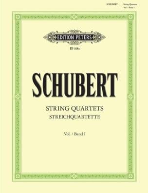 Streichquartette – Bd. 1 - Stimmen - Franz Schubert - laflutedepan.com
