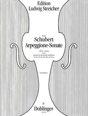 SCHUBERT - Arpeggione-Sonata a-Moll - Sheet Music - di-arezzo.com