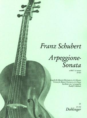 Sonate Arpeggione - Basset- Klarinette in A Klavier laflutedepan