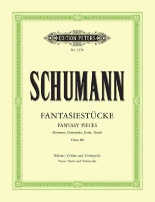 Robert Schumann - Fantasiestücke op. 88 –parties - Partition - di-arezzo.fr