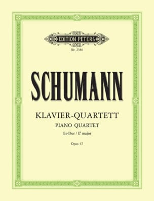 SCHUMANN - Klavierquartett Es-Dur op. 47 - parts - Sheet Music - di-arezzo.co.uk