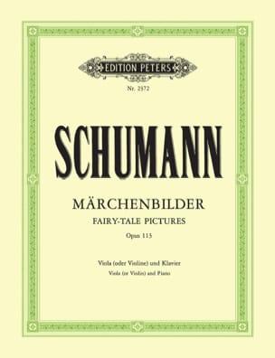 SCHUMANN - Märchenbilder op. 113 - Sheet Music - di-arezzo.com