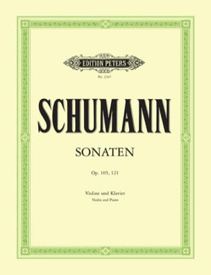 SCHUMANN - Sonaten op. 105, 121 - Sheet Music - di-arezzo.co.uk