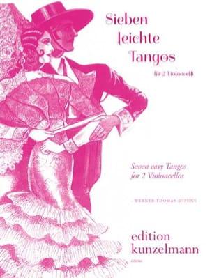 7 Leichte Tangos Werner Thomas-Mifune Partition laflutedepan