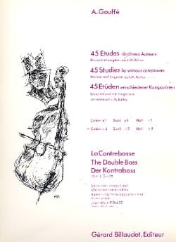 A. Gouffé - 45 Studies by various authors, Volume 2 - Sheet Music - di-arezzo.com