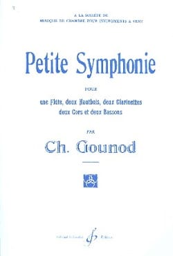 Charles Gounod - Small Symphony - Conductor - Sheet Music - di-arezzo.com