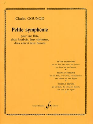 Charles Gounod - Small Symphony Bb M. - Nonette à Vents Parties - Sheet Music - di-arezzo.co.uk