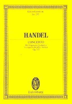 Orgel-Konzert A-Dur, op. 7/2 A-Dur - HAENDEL - laflutedepan.com
