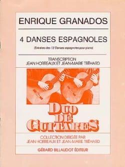 4 Danses Espagnoles N° 3-4-11-12 GRANADOS Partition laflutedepan