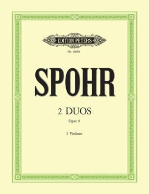 Louis Spohr - 2 Duos op. 9 - Partition - di-arezzo.fr