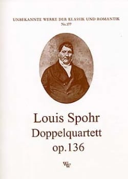 Louis Spohr - Doppelquartett op. 136 -Partitur + Stimmen - Partition - di-arezzo.fr