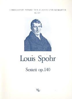 Sextett op. 140 -Stimmen SPOHR Partition Sextuors - laflutedepan