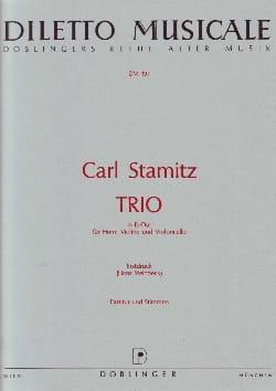 Carl Stamitz - Trio Es-Dur - Violin Violin Viollo - Partitur Stimmen - Partitura - di-arezzo.es
