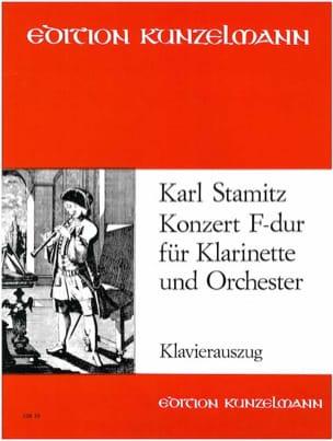 Carl Stamitz - Konzert F-Dur – Klarinette Klavier - Partition - di-arezzo.fr