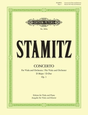 Carl Stamitz - Concerto D-Dur op. 1 - Alto / Piano - Sheet Music - di-arezzo.co.uk