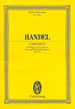 Orgel-Konzert B-Dur, op. 7/1 B-Dur - HAENDEL - laflutedepan.com
