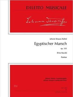 Egyptischer Marsch, op. 335 - Partitur - laflutedepan.com