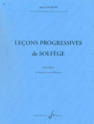 30 Leçons Progressives Volume 1 Alain Grimoin Partition laflutedepan