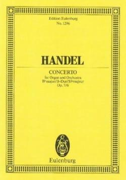 Orgel-Konzert B-Dur, op. 7/6 - laflutedepan.com
