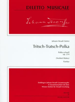 Tritsch-Tratsch Polka, op. 214 - Partitur - laflutedepan.com
