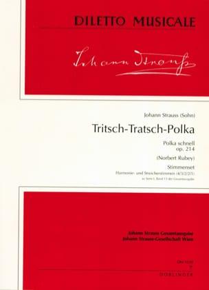 Tritsch-Tratsch Polka op. 214 - Set Johann (Fils) Strauss laflutedepan