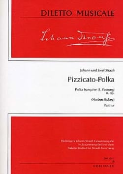 Strauss Johann (Fils) / Strauss Josef - Pizzicato-Polka o. op. - Partitur - Partition - di-arezzo.co.uk
