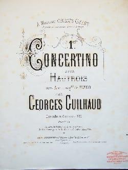 Georges Guilhaud - 1st Concertino - Oboe - Sheet Music - di-arezzo.com